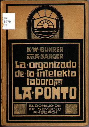 Manifesto of The Bridge in Esperanto